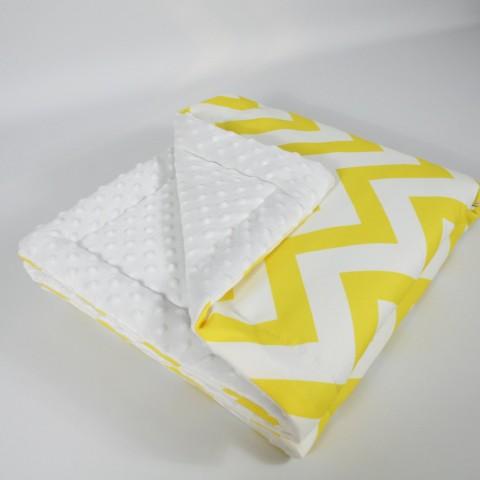 Sarı Zigzag Minky